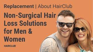 Hair Club Non-Surgical Hair Loss Solutions