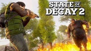 State of Decay 2 Gameplay German - Shotgun Vs. Zombies