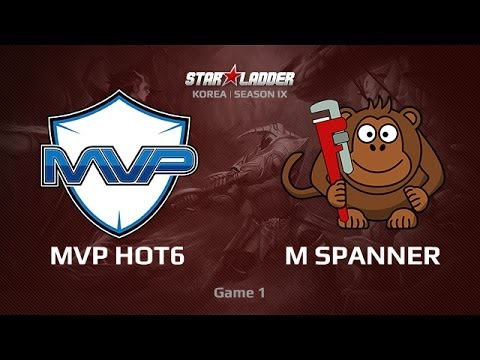 MVP HOT6 vs MS, Star Series Korea Play-off Day1, Game 1