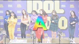 [IDOL RADIO] 191115 레인보우(Rainbow) - A /아이돌 라디오 직캠