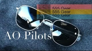 Review: American Optical AO Original Pilots Aviator Sunglasses Made in USA