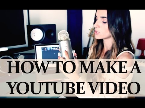 How To Make A YouTube Video 101 + Blue Yeti review