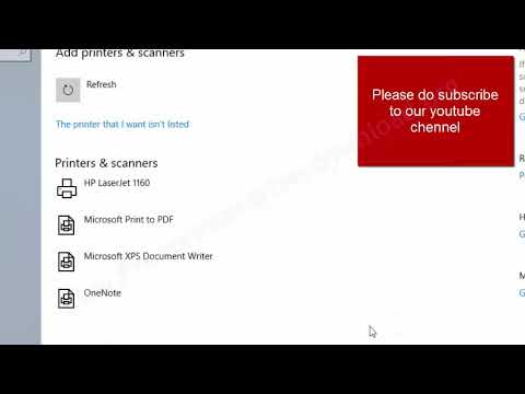 How To Install Hp Laserjet 1160 Printer Driver Manually