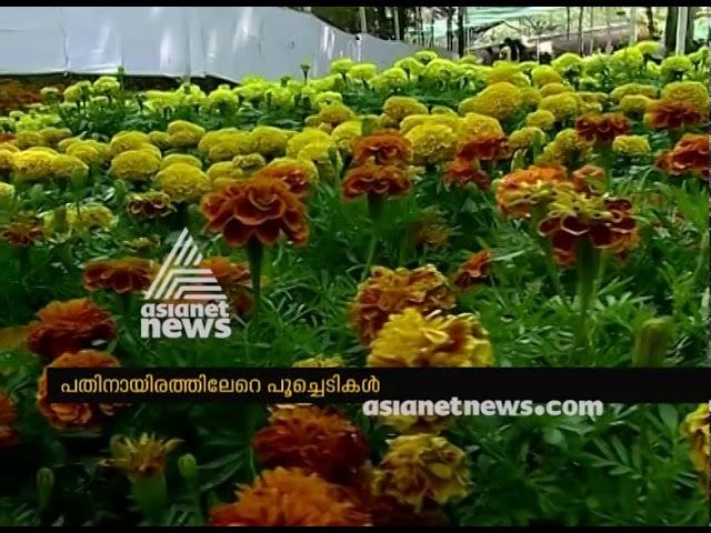 Flower show at Thrissur