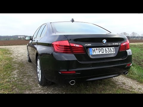 2015 BMW 535d xDrive (313 HP) Test Drive