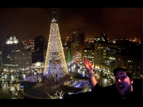worlds largest christmas tree clickbait title vlog - Worlds Largest Christmas Tree