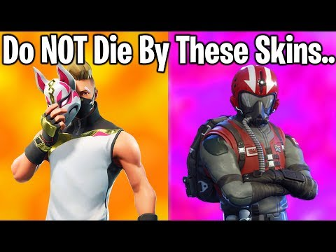 10 MOST EMBARASSING SKINS TO DIE BY IN FORTNITE