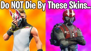 10 MOST EMBARASSING SKINS TO DIE PAR IN FORTNITE