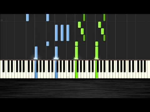 Miley Cyrus  Wrecking Ball  Piano Tutorial  PlutaX  Synthesia