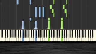 Miley Cyrus - Wrecking Ball - Piano Tutorial by PlutaX - Synthesia