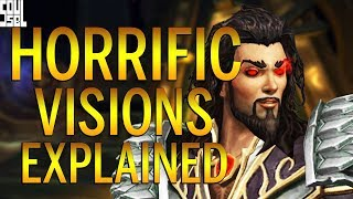 PREVIEW: How Horrific Visions Work, Obtaining Keys and Rewards! 8.3 Visions of Nzoth BFA