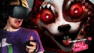 A NEW SECRET CHARACTER!!? || FNAF VR: Help Wanted ENDING (DREADBEAR DLC Secret)