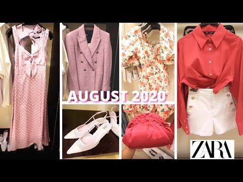 ZARA New SUMMER 2020 Collection -AUGUST 2020 ! Women's fashion with PRICES!