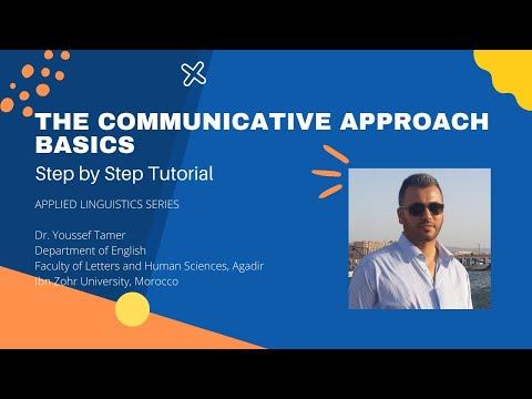 The Communicative Approach Basics
