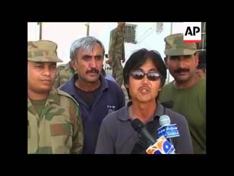 Pakistan army rescues Japanese tourists and Chinese workers