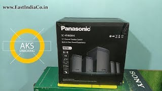 Panasonic HT40 4.1 Home Theatre UnBoxing by AKS