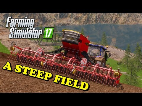 Farming Simulator 17 | The Abandoned Forest | Timelapse | Episode 13 | A STEEP FIELD thumbnail