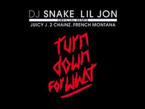 DJ Snake - Turn Down For What (Official Remix) [Clean]