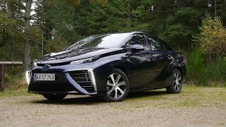 Водородомобиль Toyota Mirai: тест-драйв обзор Автопанорама