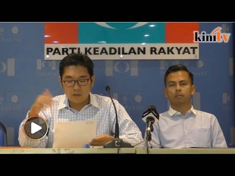 PKR MP: Set RCI for 1MDB as well as forex scandal