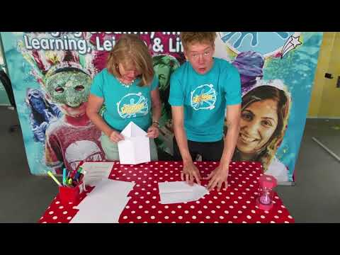 GUINNESS WORLD RECORDS How to make a paper aeroplane inspired. Brought to you by Creation Station