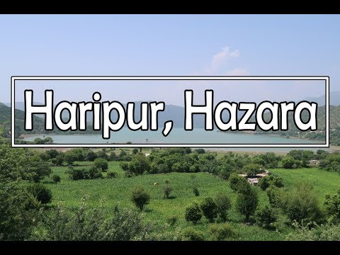 The Beautiful Haripur Hazara Travel VLOG (KPK, Pakistan)
