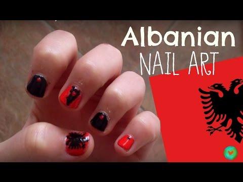 Albanian Nail Art // Artstyle Worldwide