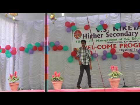 slow motion dance by V.S.N student(welcome programme)