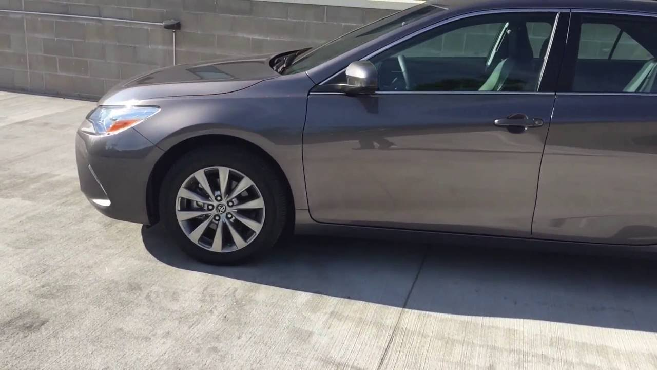Review Of My 2016 Toyota Camry Xle