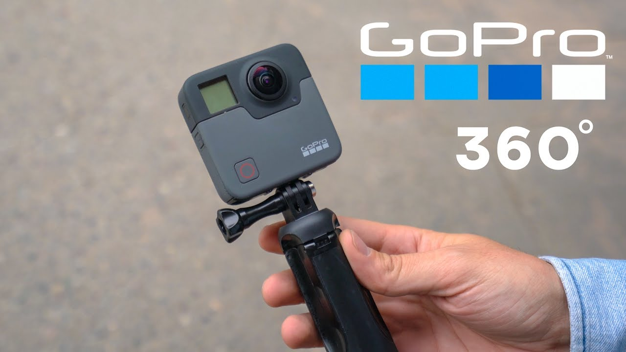 GOPRO NEW 360 CAMERA! - YouTube