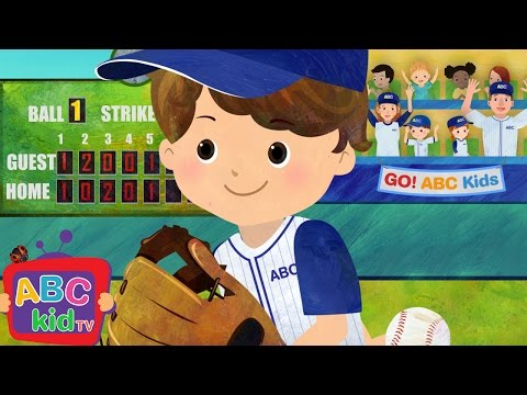 Take Me out to the Ballgame | Nursery Rhymes & Kids Songs - ABCkidTV