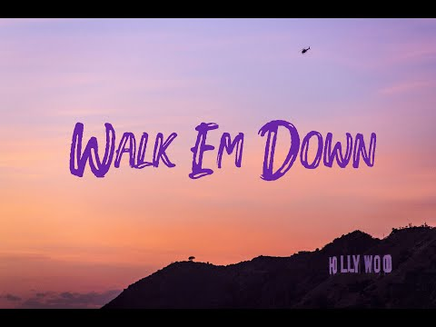 NLE Choppa feat Roddy Ricch – Walk Em Down (Lyric Video)