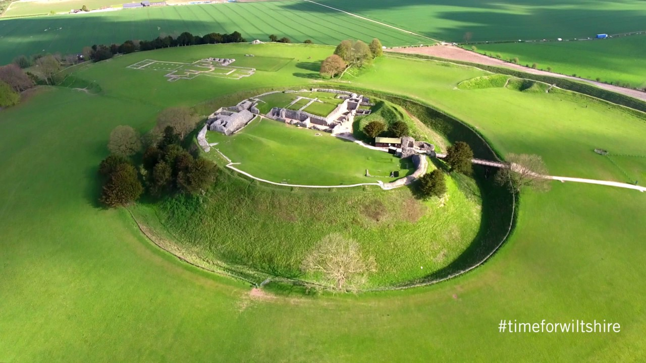 Thumbnail: Wiltshire's ancient hill forts - an aerial perspective