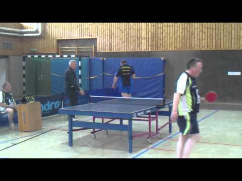 Gerd Schroeder - André Rutkowski 4. Satz | TTC Altena ClubTV