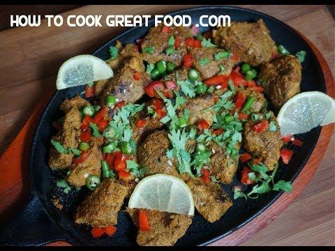 Beef Tikka Recipe - English & Tamil - Indian cooking