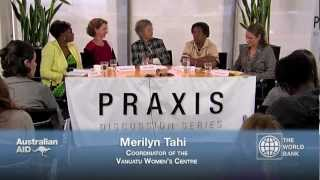 Praxis Discussion Series: Violence against Women
