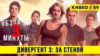 "Обзор ""Дивергент 3: За стеной"" / Review ""The Allegiant"" #89"