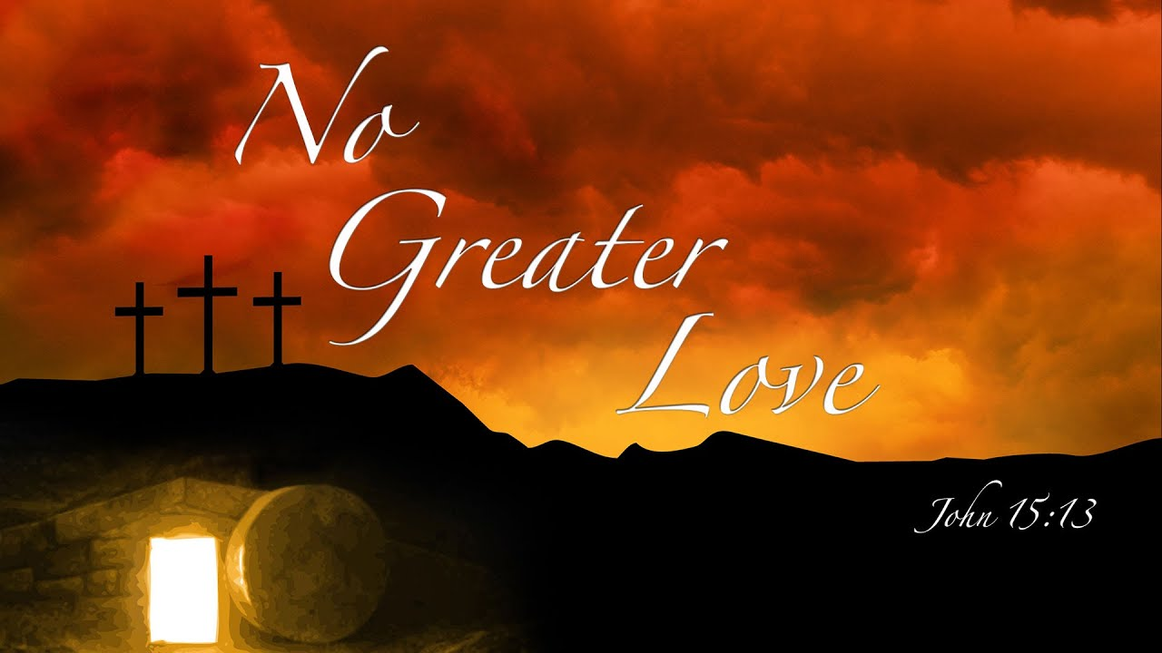 a greater love Lyrics to never been a greater love song by aaron shust: there is nothing in this world that means as much to me than the fact that you came looking in my ho.