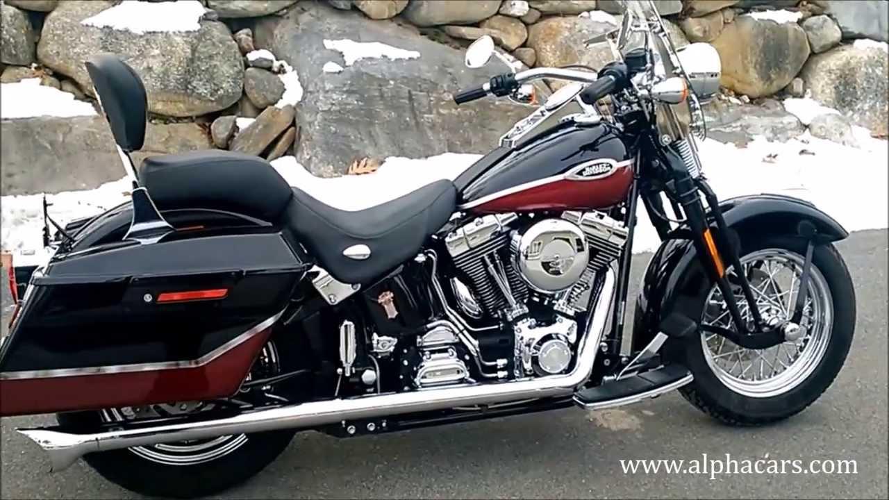 Harley Davidson Heritage Softail Springer Saddlebags