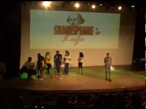 Sarau Lítero-musical Shakespeare