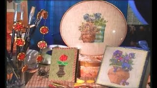 Декупаж подарочной коробки, открытки и бус цветочным декором. Мастер класс. Наташа Фохтина