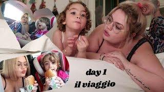 VIAGGIO IN MACCHINA CON MIA FIGLIA   day 1