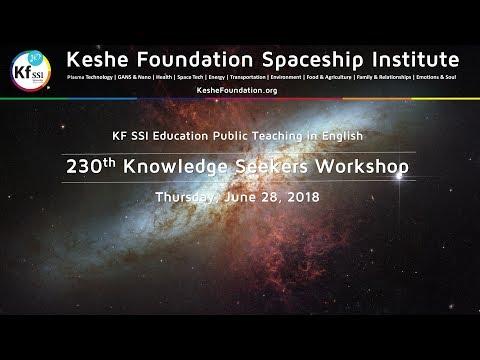 230th Knowledge Seekers Workshop June 28, 2018