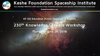 230th Knowledge Seekers Workshop June 28, 2018