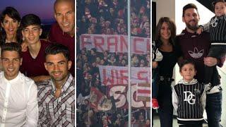 Banderole soutient à Ribéry au bayern Messi en famille , Giroud pas satisfait à chelsea,réal seville
