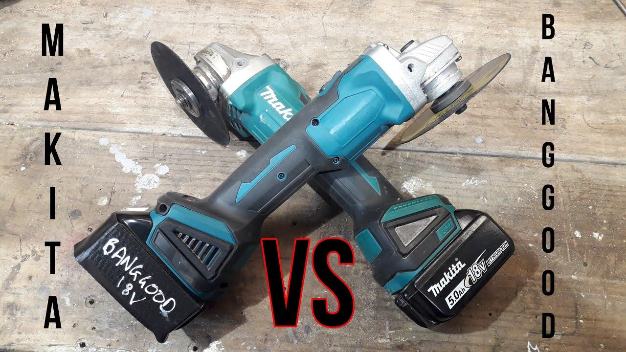 Banggood Angle Grinder VS Makita Angle Grinder | Banggood 18v Cordless Angle Grinder Review