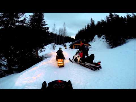 Snowmobiling in Whistler-Blackcomb