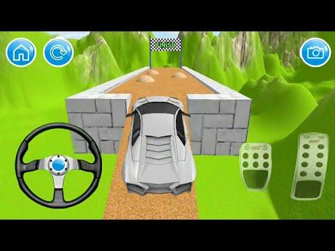 Car Hill Climb Stunt Game || Mountain Car Racing Game || Sports Car Game || Car 3d Game