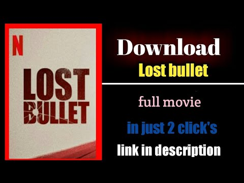 How To Download Lost Bullet 2020 English In 720p Web Dl Youtube