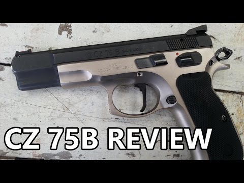 CZ 75B Review And Range Shooting